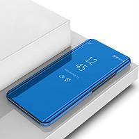 Чехол Mirror для Xiaomi Redmi 4X книжка зеркальный Blue, фото 1
