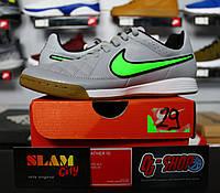 7350685baae Nike Tiempo Genio II IC - Детские Футбольные Кроссовки