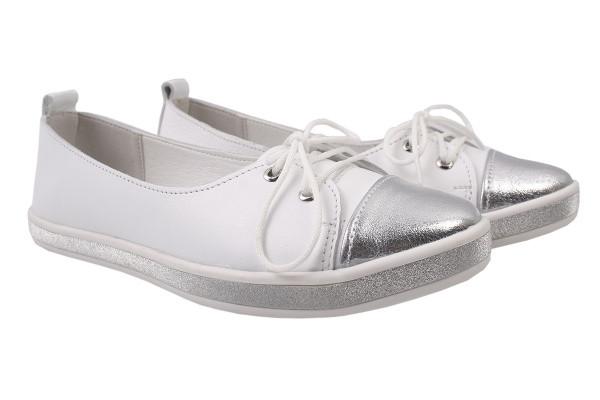 Туфли комфорт Best Vak натуральная кожа, цвет белый