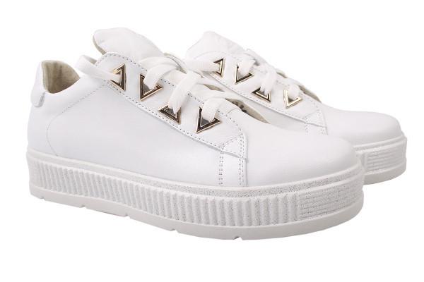Туфли комфорт Frivoli натуральная кожа, цвет белый