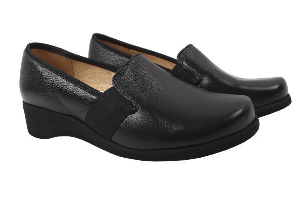 Туфли комфорт Galant натуральная кожа, цвет черный