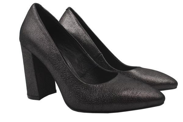 Туфли Nivelle натуральный сатин, цвет платина
