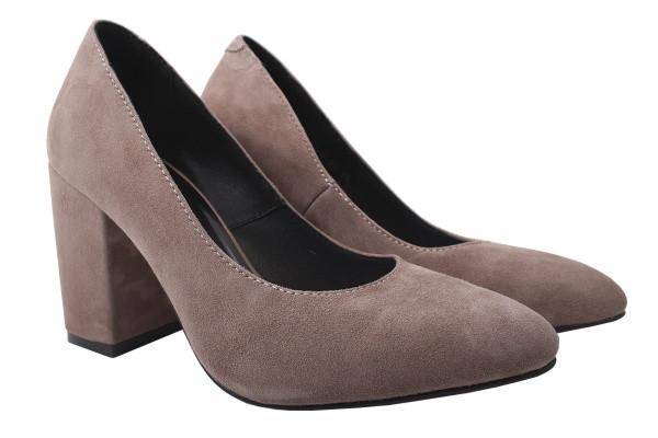 Туфли Nivelle натуральная замша, цвет визон