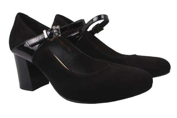 Туфли Angels натуральная замша, цвет черный