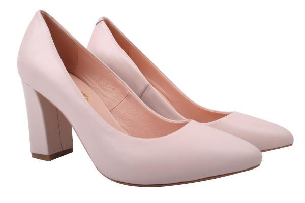 Туфли Angels натуральная кожа, цвет пудра
