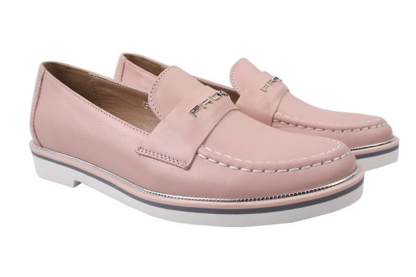 Туфли комфорт Carlo Pachini натуральная кожа, цвет розовый