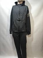 Мужской спортивный костюм адидас реплика Индонезия XL/ XXL, фото 1