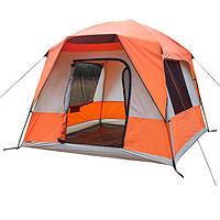 Палатка 4+2 местная GreenCamp GC10, фото 1