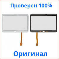 Оригинальный сенсорный экран Samsung P5200 Galaxy Tab 3 10.1 белый (тачскрин, стекло в сборе), Оригінальний сенсорний екран Samsung P5200 Galaxy Tab 3