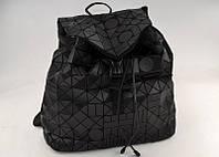 Дизайнерский BAO BAO городской космический рюкзак черного цвета ISSEY MIYAKE D09 матовый