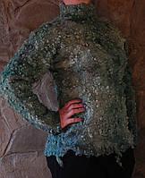"""Валяный свитер """"Весенняя свежесть"""""""