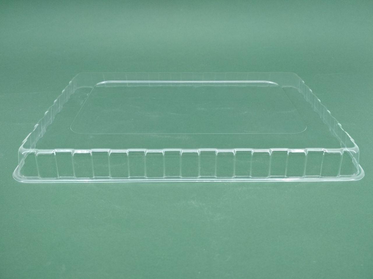 Крышка пластиковая ПС-61, под контейнер для суши ПС-61ДЧ/ 61ДБ/ 61ДЧД, 50 шт/пач