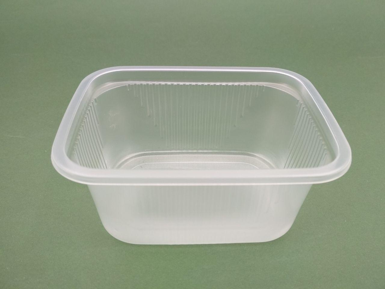 Одноразовый контейнер для супа, сметаны, меда, салатов SL5882, (V=250мл), 50 шт/пач