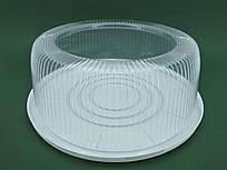 Одноразова пластикова упаковка для тортів ПС-260ДК, (V7200мл), 75 шт/ящ
