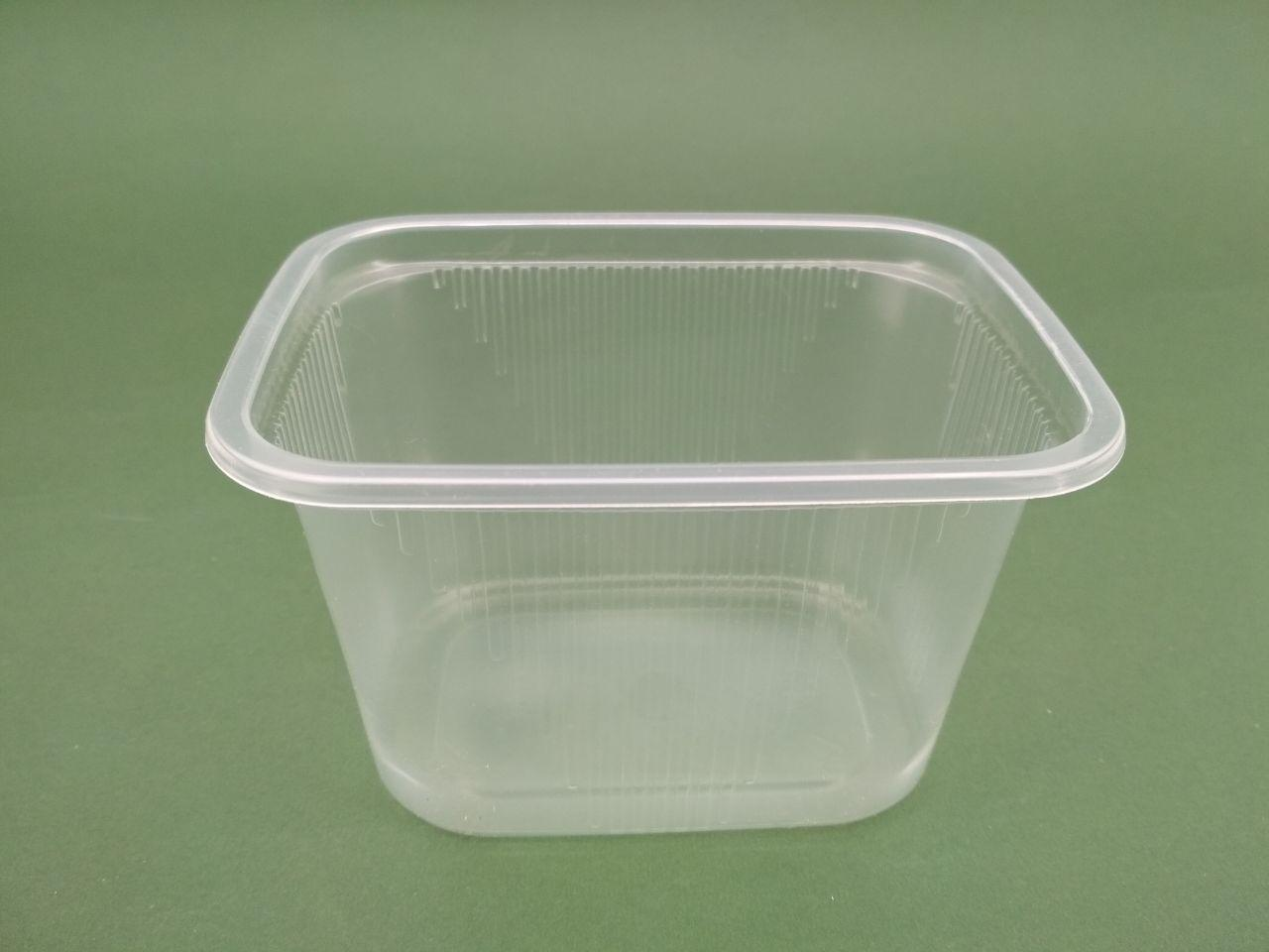 Одноразовый контейнер для супа, сметаны, меда, салатов SL5883, (V=350мл), 50 шт/пач