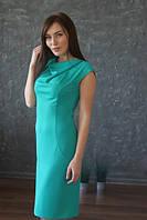 Платье С хомутом и разрезом