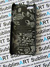 Дизайнерский чехол ручной работы для Iphone 5/5s soft-touch (Волк), фото 2