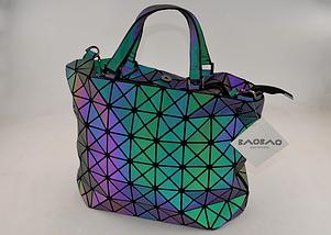 Сумка міська жіноча BAO BAO хамелеон стильна сумка 29*23*15, фото 2