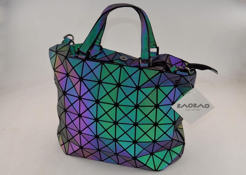 Дизайнерский BAO BAO городской космический рюкзак черного цвета ISSEY MIYAKE