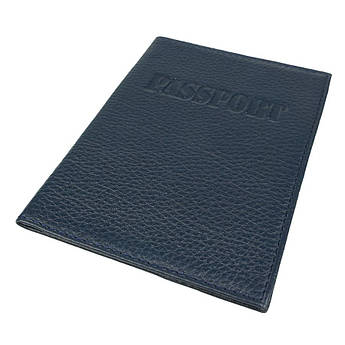 Обложка для паспорта Canpellini 0324 темно-синяя