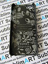 Дизайнерский чехол ручной работы для Iphone 5/5s soft-touch (Лев), фото 2