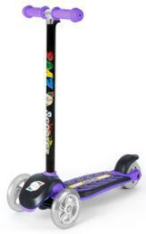 Самокат Орион Фиолетовый сияющие колеса (164св)