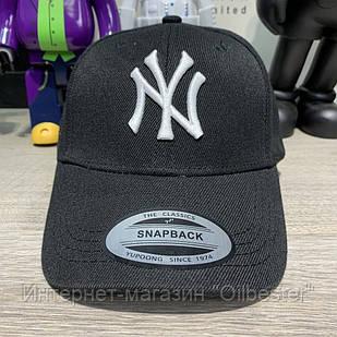 Бейсболка кепка New York Yankees Black/White