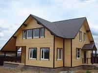 Строительство под ключ дачных Канадских домиков