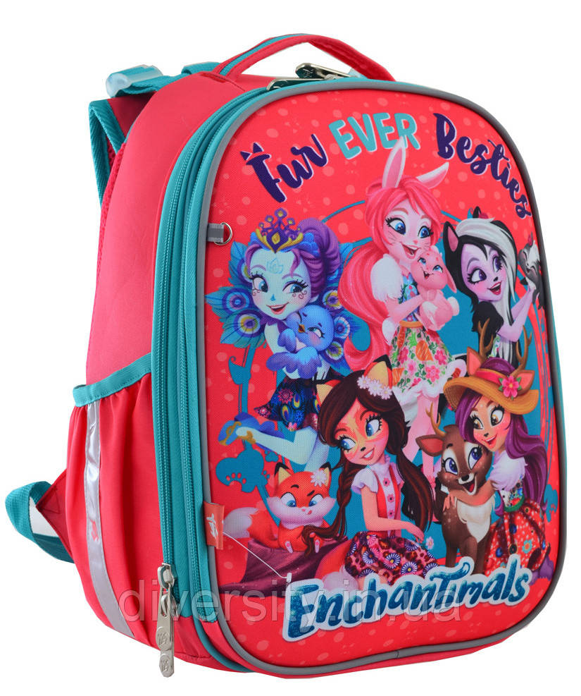 """Каркасный школьный рюкзак H-25 """"Enchantimals"""" ,серия """"Shalby"""" 556179"""