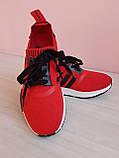 Красные классные кроссовки 37  полномерные, фото 2