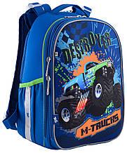 """Каркасный школьный рюкзак H-25 """"M-Trucks"""" ,серия """"Shalby"""" 556187"""