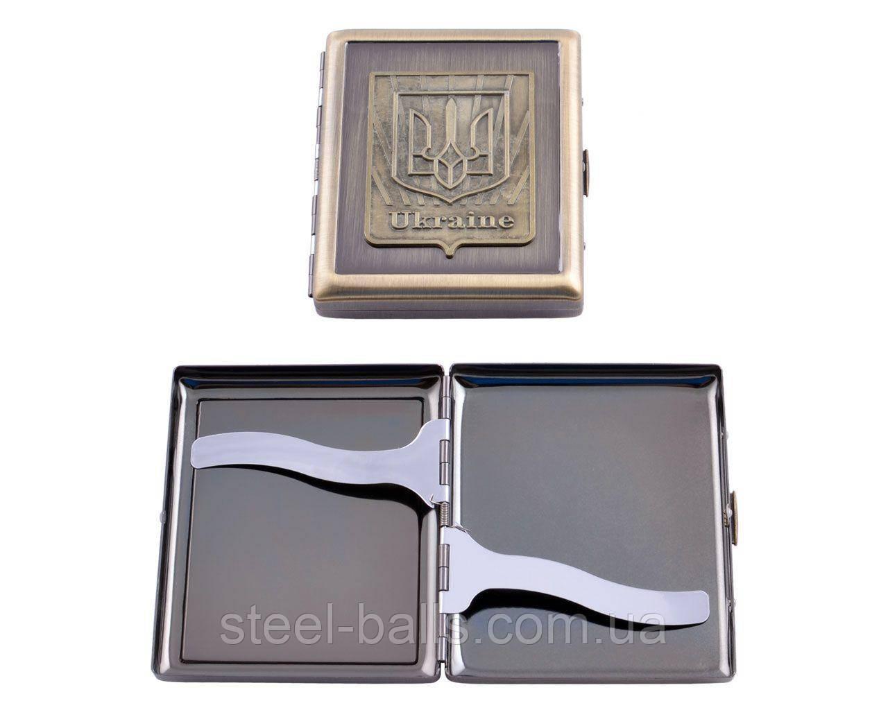 Портсигар Украина на 20 сигарет