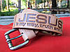 Кожаный ремень  Jesus is my way, truth, and life / Трактор 40