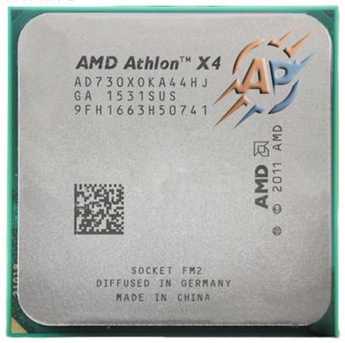 Процессор AMD Athlon X4 730 (2800MHz, сокет FM2) AD730XOKA44HJ 65W