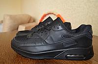 ПОСЛЕДНЯЯ ПАРА!!! Кроссовки мужские черные Реплика Nike AirMax новые 43 р. 27,5 см