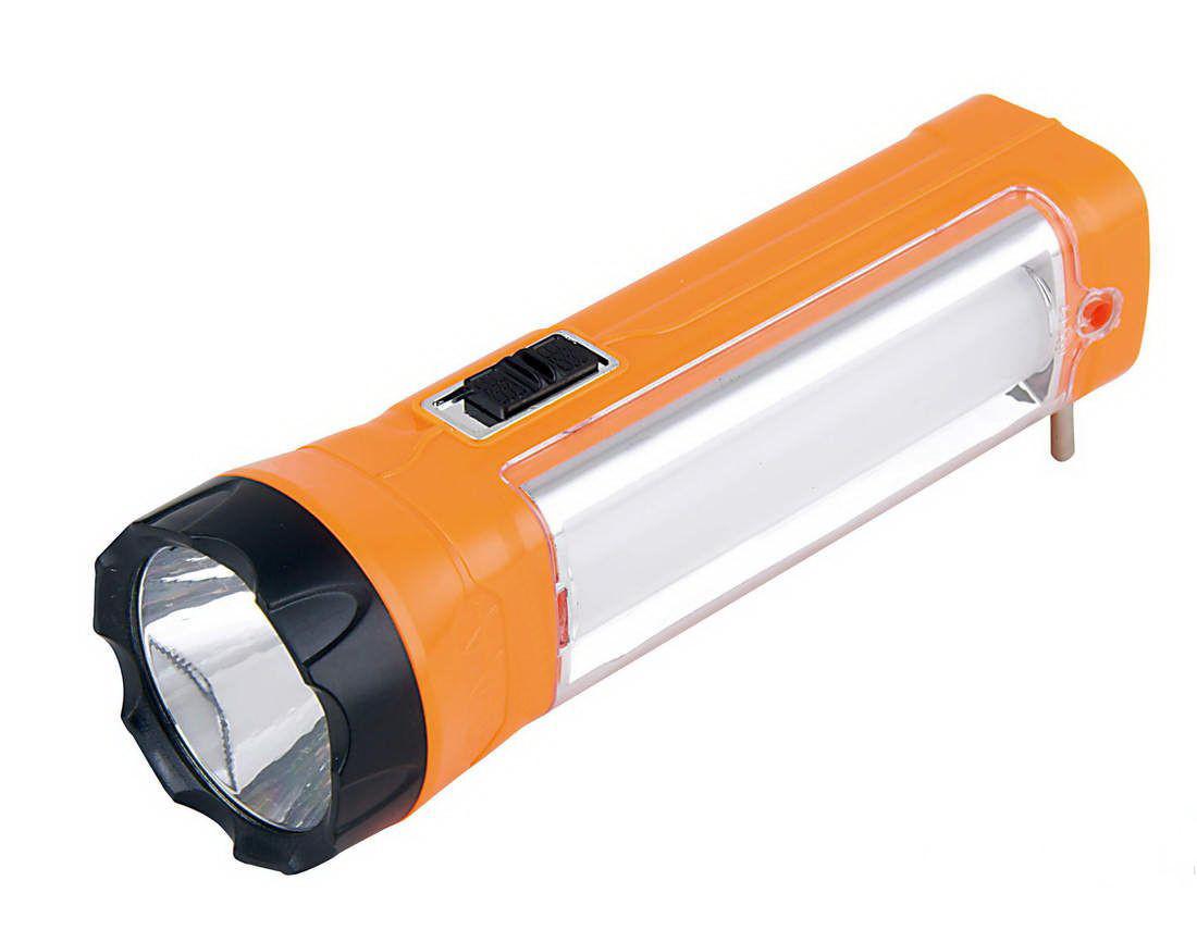 Аккумуляторный фонарь ASK 1052 ( 1W+9SMD ) ТМ АСК