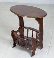 Газетница-стол ольха