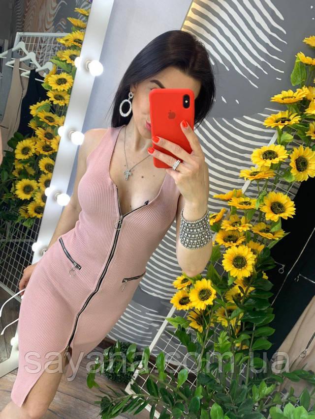 женское молодежное платье