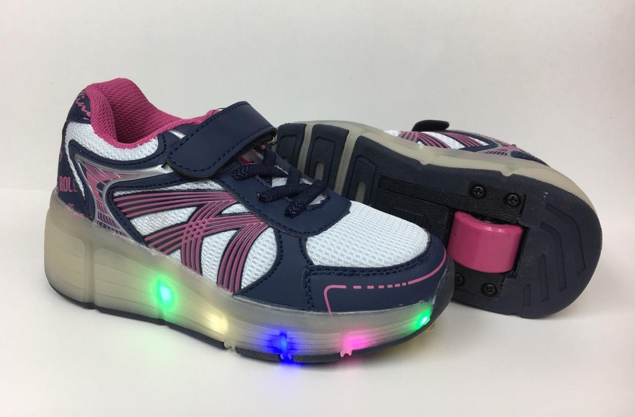 fa5cce80 Детские роликовые кроссовки Heelys (хилис) для мальчика и девочки, размеры  30-38