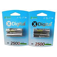 Аккумулятор X-Digital AA 2500 mAh 4 шт