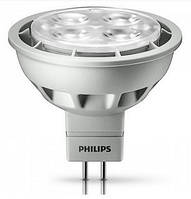 Лампа PHILIPS Essential LED 4.2-35W 12V 6500K MR16 24D