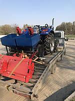 Доставка минитрактора с навесным оборудованием