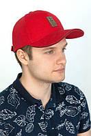 Мужская красная кепка «Ediko»