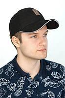 Мужская кепка «Ediko»,черного цвета