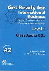 Get Ready for International Business with BEC practice 1 Class Audio CDs
