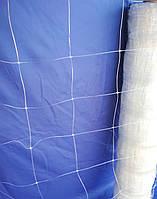 Сетка цветочная белая  1х50 метров (12,5х12,5см).Шпалерная.