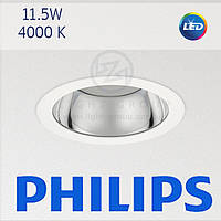 Светодиодный врезной даунлайт PHILIPS DN140B LED10S/840 PSED-E C IP54