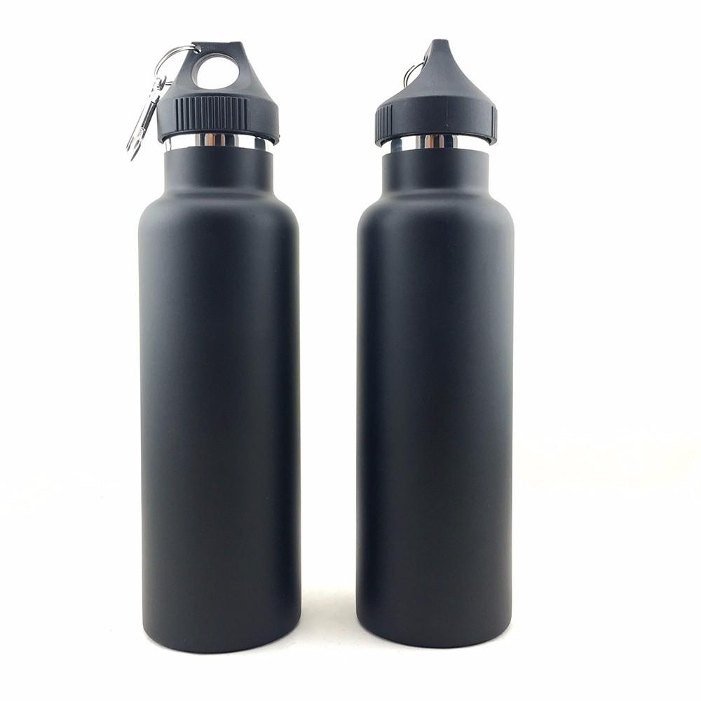Спортивная вакуумная бутылка для воды фляга с карабином MP-V03