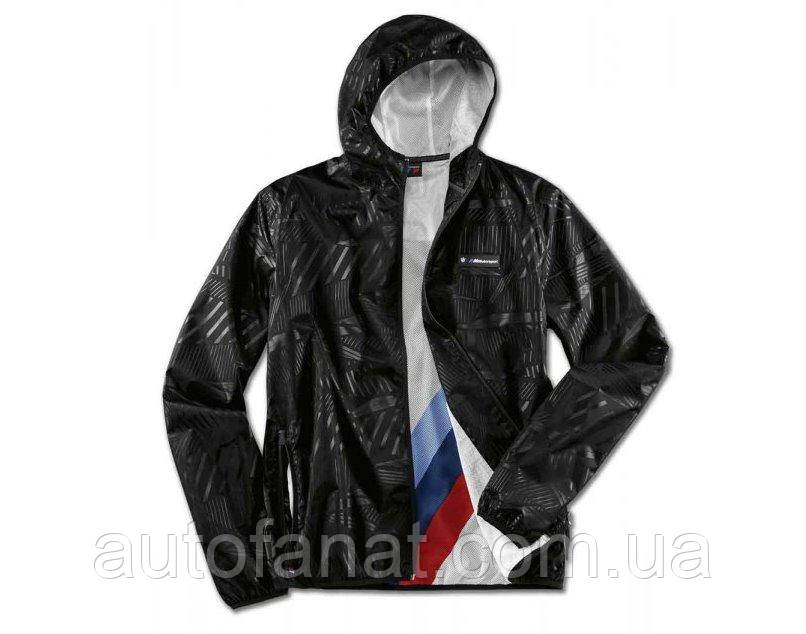 Оригинальная куртка дождевик BMW M Motorsport Rain Jacket, Unisex, Black (80142461091)