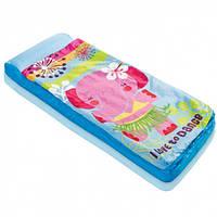 Спальный мешок - надувной матрас 64х152х20см Intex